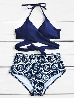Shop Calico Print Wrap High Waist Bikini Set online. SheIn offers Calico Print Wrap High Waist Bikini Set & more to fit your fashionable needs.