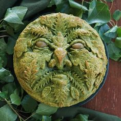 Heads up Patrons! I've shared another secret recipe with you over on Patreon. :) This time it's a recipe for this beautiful Green Man… Pie Crust Designs, Nyx Soft Matte, Matte Lips, Pies Art, Pie In The Sky, Pie Tops, No Bake Pies, Beltane, Pie Cake