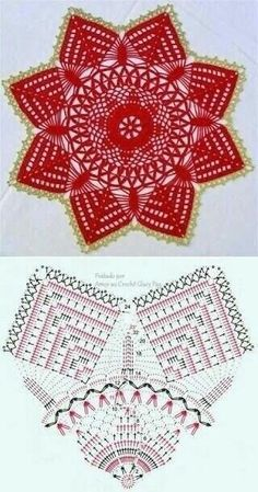 It is a website for handmade creations,with free patterns for croshet and knitting , in many techniques & designs. Free Crochet Doily Patterns, Crochet Mat, Crochet Doily Diagram, Crochet Dollies, Crochet Circles, Thread Crochet, Crochet Designs, Crochet Flowers, Crochet Coaster