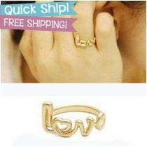 LOVE Ring. Free Shipping and just $3.99.