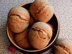 bułki na zakwasie dla leniwych, jak zrobić bułki na zakwasie?, bułki śniadaniowe, Nasu, Bread, Food, Brot, Essen, Baking, Meals, Breads, Buns