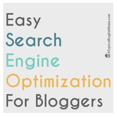 Easy SEO For Bloggers - A Typical English Home