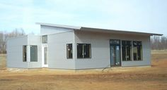 Image for casa ti Price: $22,537, Square footage: 1,200 sf, Bedrooms: 3 http://www.greenmodernkits.com/c3.htm