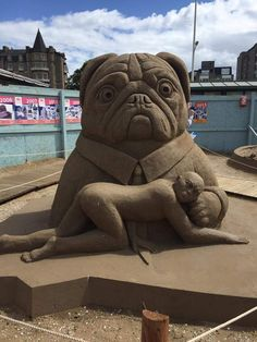 Great Sand Sculpture!  :)