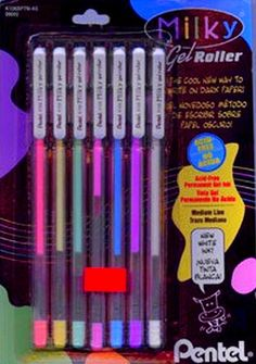 awh the colored Jell Pens came to be in the 90's