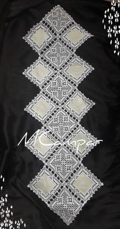 Crochet ideas that you'll love Filet Crochet, Crochet Motifs, Crochet Borders, Crochet Round, Thread Crochet, Crochet Doilies, Crochet Flowers, Crochet Lace, Crochet Bolero Pattern
