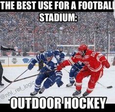 So true! Only reason I can think of to ever go to a football stadium! So jealous of my girlfriend and her husband. Perks of working for the leafs :) football girlfriend Haha husband jealous leafs Perks reason Stadium true Working Bruins Hockey, Hockey Players, Flyers Hockey, Caps Hockey, Hockey Tournaments, Hockey Goalie, Hockey Girls, Hockey Mom, Kings Hockey