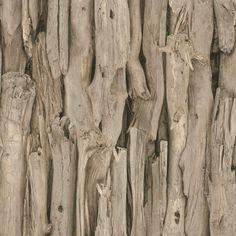 Rasch Driftwood Natural Wood Effect Wallpaper Paste the Wall Vinyl 473216 #Rasch
