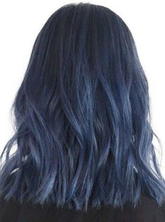 Stunning 30+ Best Navy Blue Hair Ideas For Elegant Women https://www.tukuoke.com/30-best-navy-blue-hair-ideas-for-elegant-women-14343