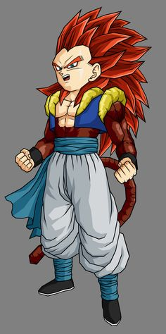 Gotenks SSJ4 by ~hsvhrt on deviantART