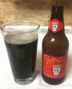 Santo from Saint Arnold Brewing Company... One of the beers I bring home from Texas. :)