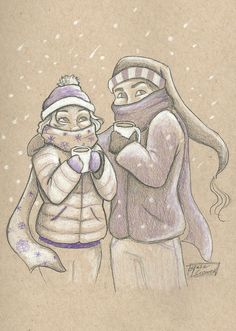 Cress and Thorne for tlc ship weeks day 2: Snowy Day by Julie Crowell