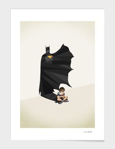 """""""Gotham Shadows"""", Exclusive Edition Fine Art Print by Jason Ratliff - From $35.00 - Curioos"""