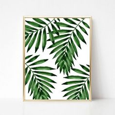 Items similar to 3 Printable Plants Poster Printable Wall Art Print Monstera . - Items similar to 3 Printable Plants Poster Printable Wall Art Print Monstera Watercolor Print Mo - Plant Painting, Plant Art, Watercolor Plants, Watercolor Art, Reproductions Murales, Painted Leaves, Tropical Plants, Printable Wall Art, Painting Inspiration