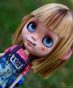 The Trick or Treater - Hannah - Custom Blythe Doll by SweetCrate - #93