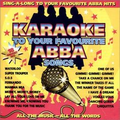 Various - Abba Karaoke, Black