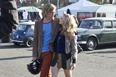 Still of Chris Hemsworth and Olivia Wilde in Rush