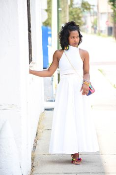 Adrienne of Sweenee Style Black Girl Fashion, Diva Fashion, White Fashion, Fashion Outfits, Curvy Fashion, Style Fashion, Fashion Tips, Fashion Trends, Date Outfits