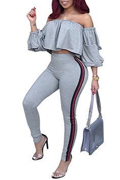 Cromoncent Womens Stylish High Rise Fake Two Culottes Dance Yoga Pants