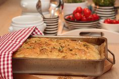 Foccacia with herb oil and maldon salt Norwegian Food, Norwegian Recipes, New Menu, Just Cooking, Biscuit Recipe, Food Humor, Sweet Bread, Coffee Cake, Bread Baking