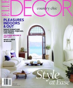 Modern Living Room Design In Elle Decor UK April 2013 Photography By William Abranowicz -Summer house furniture ideas.