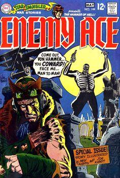 Star Spangled War Stories 144 - Enemy Ace - Joe Kubert