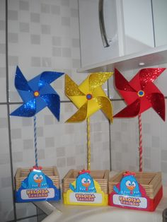First Birthday Parties, It's Your Birthday, First Birthdays, Party Centerpieces, Party Favors, Foam Crafts, Diy And Crafts, Ideas Para Fiestas, Paper Gifts
