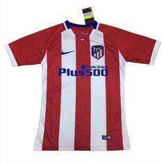 Camiseta Atletico de Madrid 2017-2018 Primera barata Football Kits, Sports, Tops, Fashion, Football Shirts, Athlete, Soccer Kits, Hs Sports, Moda