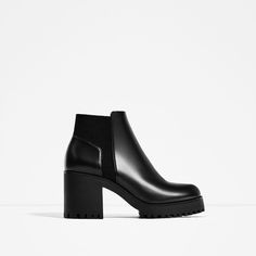 Image 2 of TRACK SOLE HEELED ANKLE BOOTS from Zara