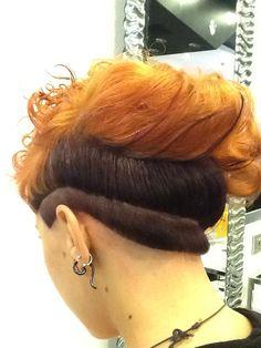 #cut #haircut #crazylook #look #pinogirone #bari #taglio #proposta #shorthair