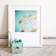 big wheel photographic print by cassia beck photography | notonthehighstreet.com