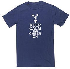 HippoWarehouse Keep calm and cheer on unisex short sleeve t-shirt HippoWarehouse http://www.amazon.co.uk/dp/B012GDO644/ref=cm_sw_r_pi_dp_viA6vb1XDZ1BW