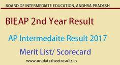 BIEAP 2nd Year Vocational Result