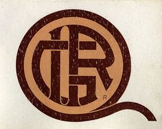 Bookplate of IRG Description: Features the monogram 'IRG' within a circular border, with a tail extending to the right. Signed with unidentified monogram in lower right, possibly 'A,' or 'AF.' Format: 1 print, col., 6 x 7 cm. Source: Pratt Institute Libraries, Special Collections 433 (sc00121)