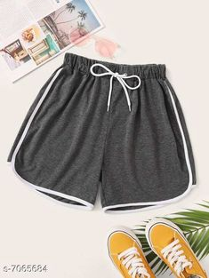 Shorts Vivient Women Grey Hosery Short Fabric: Cotton Pattern: Solid Multipack: 1 Sizes:  24 (Waist Size: 24 in Length Size: 12 in Hip Size: 16 in)  26 (Waist Size: 26 in Length Size: 13 in Hip Size: 18 in)  28 (Waist Size: 28 in Length Size: 14 in Hip Size: 20 in)  30 (Waist Size: 30 in Length Size: 15 in Hip Size: 22 in) Country of Origin: India Sizes Available: 24, 26, 28, 30   Catalog Rating: ★4.1 (1341)  Catalog Name: Stylish Unique Women Shorts CatalogID_1127425 C79-SC1038 Code: 542-7065684-996