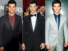 Taylor Lautner I have this thing for men who can wear the heck out of a suit with a skinny tie and scruffles. Taylor Lautner, Jacob Black, Skinny Ties, Well Dressed Men, Celebs, Celebrities, Attractive Men, Perfect Man, Sexy Men