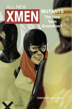 Phil Noto variant cover  for the February issue of All-New X-Men.