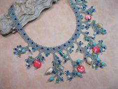 An interesting piece—beaded necklace❣ Mermaids Treasure Summer Edition Beading Kit