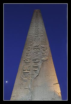 Obelisk, Luxor, Egypt