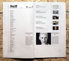 Snitt Magazine on Behance