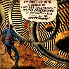 Jack Kirby - Drifting into infinity (1966)