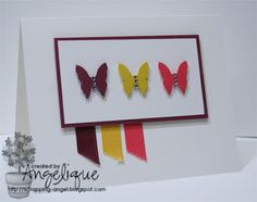 Bits and pieces of my life: StampinUp - SU! Ribbon and Cardstock