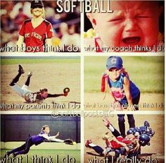 Softball quotes - Funny Sports - - Softball quotes The post Softball quotes appeared first on Gag Dad. Softball Players, Girls Softball, Softball Bats, Fastpitch Softball, Softball Stuff, Softball Things, Softball Equipment, Softball Dugout, Softball Coach
