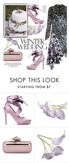 """True Romance: Winter Wedding"" by sofi-danka ❤ liked on Polyvore featuring Liam Fahy, Jimmy Choo and winterwedding"