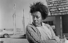 """CCH Pounder in """"Bagdad Cafe"""" love this movie and her"""