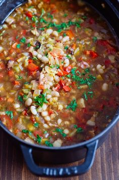 Recipe: White Bean & Bacon Soup — Recipes from The Kitchn | Kitchn