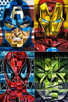 Avengers - Heroes by Tim Rogerson