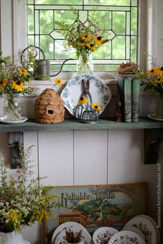 Black-eyed Susans and a Flower Fix | Home is Where the Boat Is