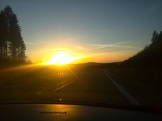 Tramonto on the road #deutschland