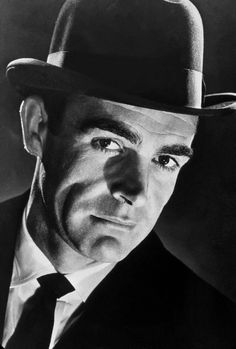 """#Vintage and #Fashion -- #SeanConnery in #JamesBond """"DrNo"""" 1962 -- #BlackTie"""